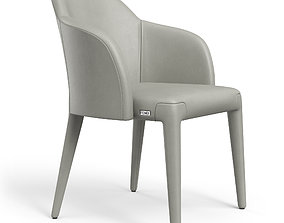 3D model Fendi Chair Cream