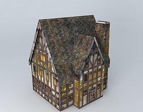 3D Low poly Tavern