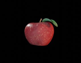 3D asset VR / AR ready delicious Apple
