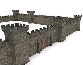 3D asset Castle - Modular pack