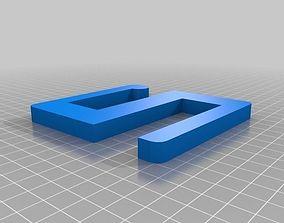 S hook 3D print model