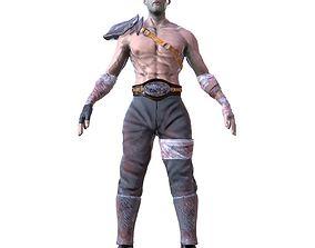 3D model Warrior V01