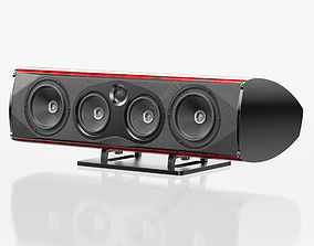 3D model Sonus faber Homage Vox Red