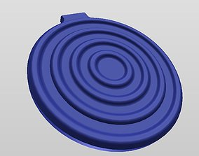 3D print model QI WIRELESS CHARGER STYLE 2