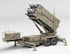 Patriot complex 3D asset