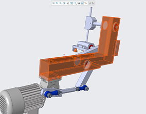 3D print model 90 degree pick and place mechanism