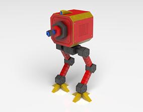 3D asset Ostro Bot