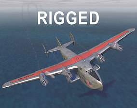 Yankee Clipper Flying Boat 3D