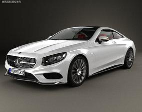 3D model Mercedes-Benz S-Class AMG Sports C217 coupe HQ 1