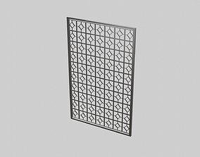 Master Bedroom Room Divider 3D asset