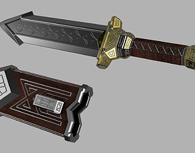 Thorins knife from The Hobbit 3D print model