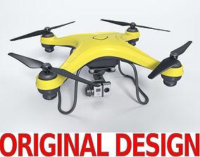 Gneneric Quadcopter Drone V1 3D asset