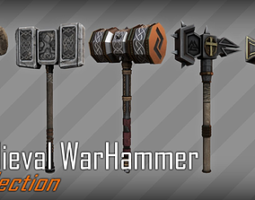 3D model Medieval Warhammer Collection 01