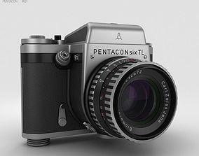 3D model Pentacon Six TL