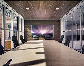 3D asset All furniture lightmapped SHC Quickoffice