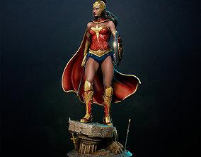 woman Wonder Woman 3D print model