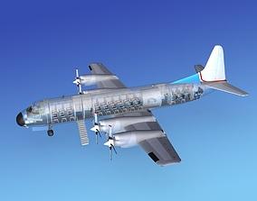 Lockheed L-188 Electra HP Corporate 2 3D
