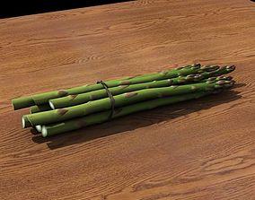 Asparagus bundle 3D model