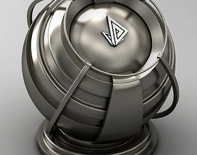 VRAY SHADER---METAL---Lead-tin alloy 3D