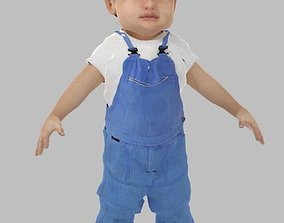 rigged Baby Model Rigged