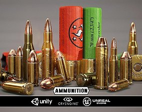 3D asset Ammunition - Model and Textures