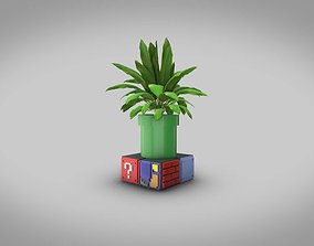 Mario Bros Small Desk Planter 3D Print
