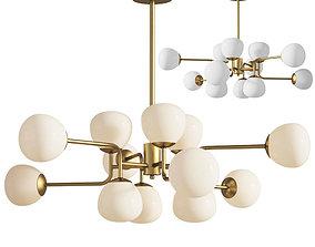 3D model Chandelier 6 Pendant Lamp Erich Maytoni