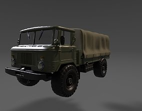 3D printable model GAZ66 the Soviet all-terrain vehicle