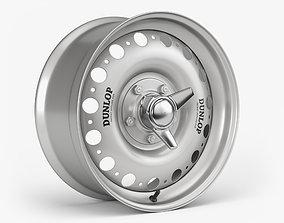 3D Dunlop D-Type Wheel
