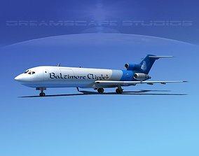 Boeing 727-200 Baltimore Clipper 3D model