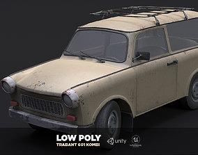 3D asset Trabant 601 Kombi 1965