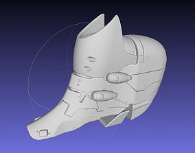 3D print model Evangelion Rebuild Unit 02 Head Replica 1