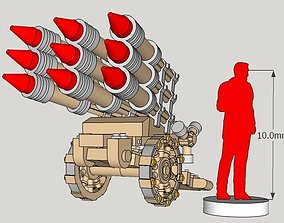3D printable model 10mm Imperious Hell-Storm Rocket