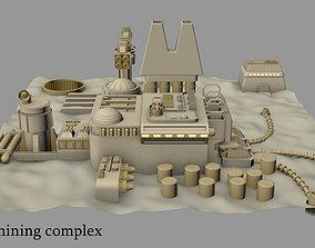 3D model Kessel mining complex