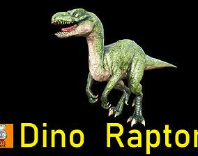 3D asset Monster-- Raptor --