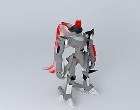 3D model gekka kyoshiro todo customized