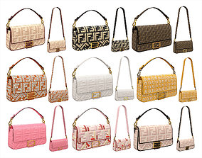 3D model Fendi Baguette Bag