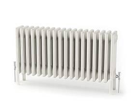 White radiator heating 32 am91 3D model