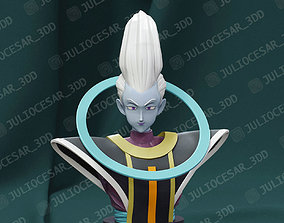 Dragon ball - Whis bust 3D printable model