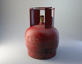 Cylinder gas 3D asset