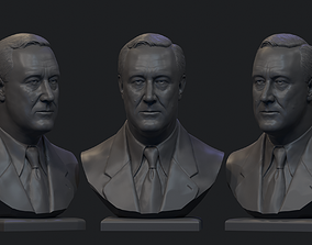 3D printable model Franklin Delano Roosevelt
