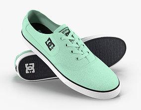 DC Shoes - Flash TX - Mint 3D model