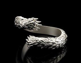 Hug ring bear paw ring stl 3D printable model