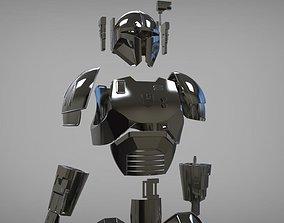 Full Heavy infantry mandalorian armor 3D printable model