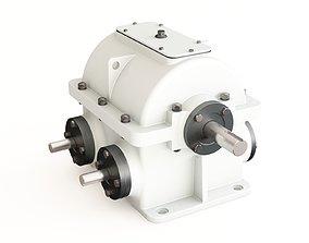 Gearbox industrial 3D model