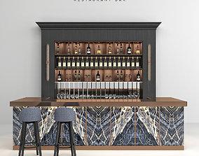 3D Restaurant Bar 18