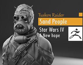 Tusken Raider - Sand People - Star Wars 3D print model 4