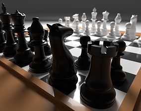 Chess furniture 3D