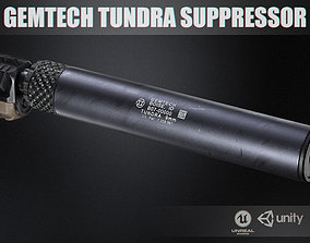 Gemtech Tundra Suppressor 9mm 3D model