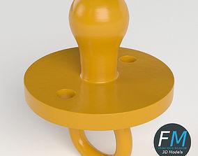 3D model PBR Pacifier